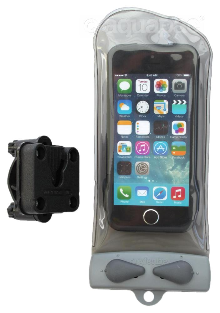 Mini Phone / iPhone™ / GPS bike-rail mounted