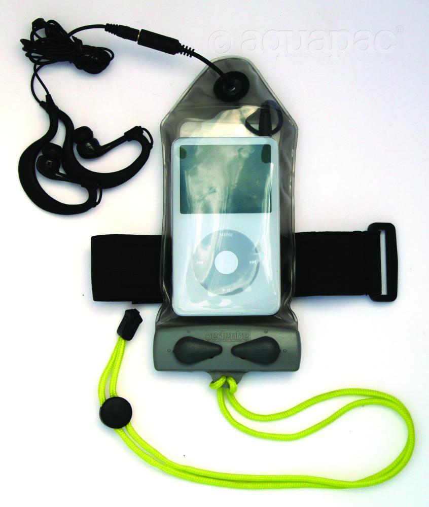 Set: iPod™/MP3-Tasche & Kopfhörer wasserdicht