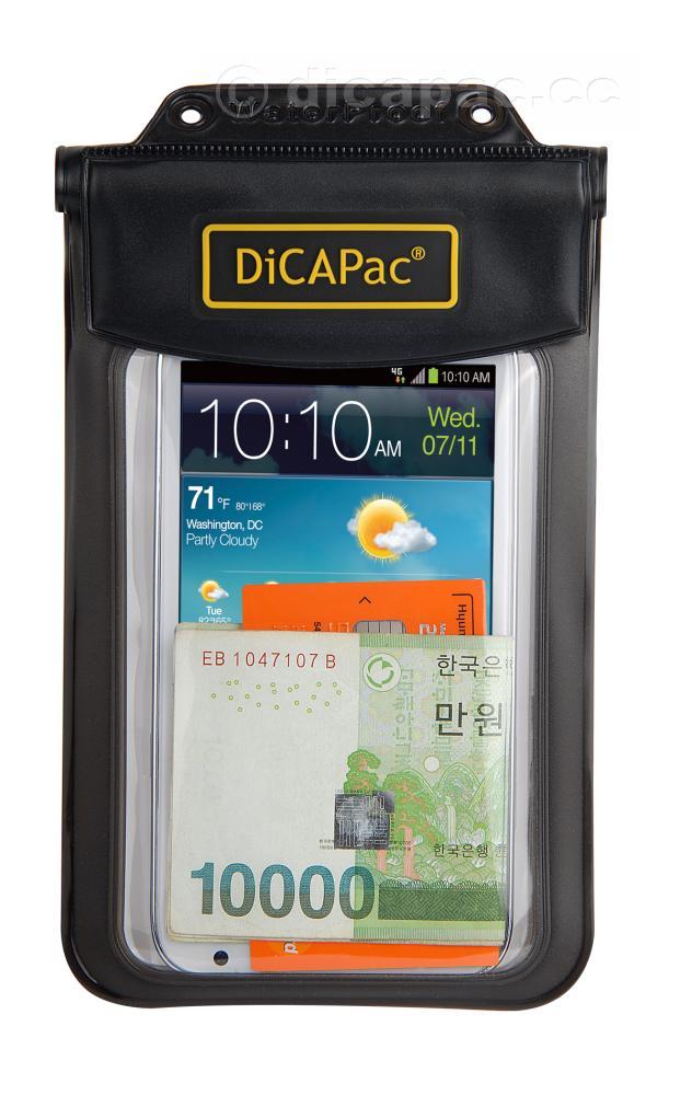 DiCAPac Allzweck-Tasche wasserdicht, in schwarz