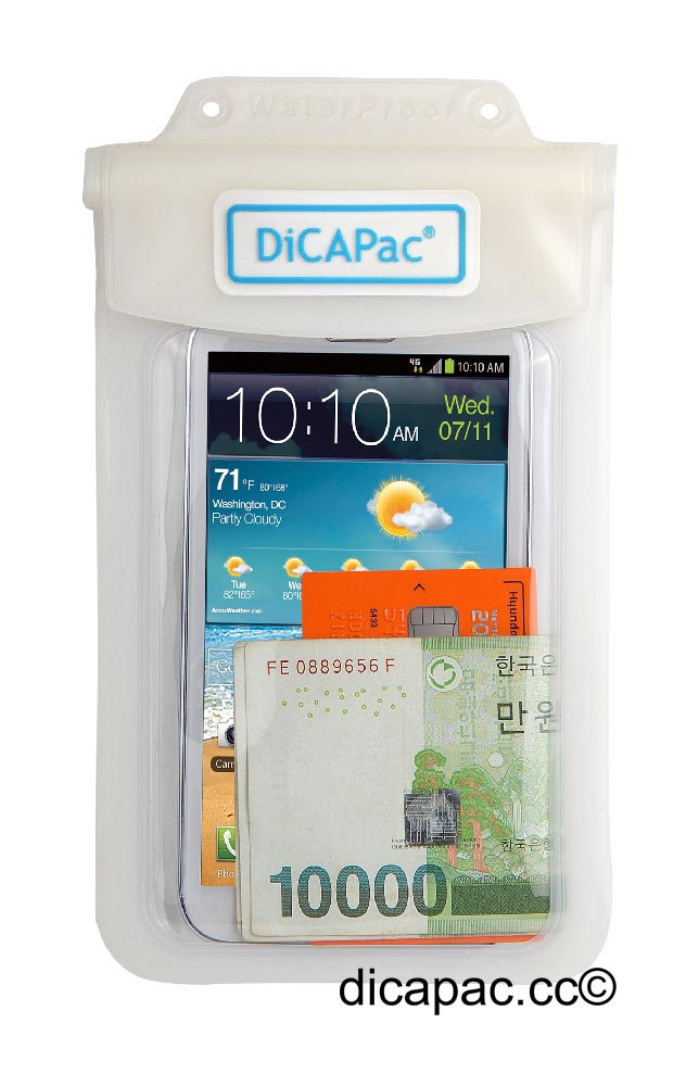 DiCAPac Multipurpose Case waterproof, white