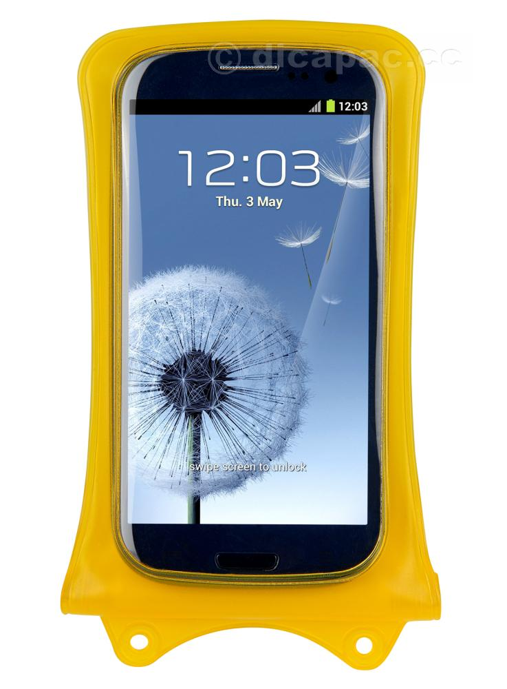 DiCAPac DiCAPac Smartphone-/ iPhone™-Tasche klein gelb