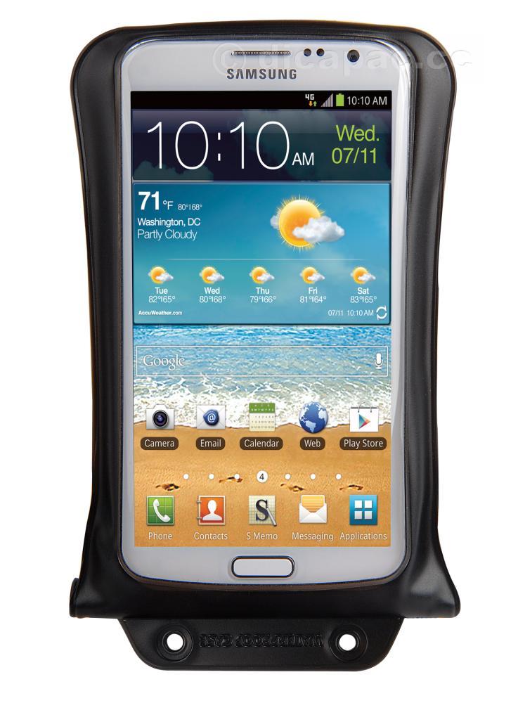 DiCAPac Smartphone-Tasche medium schwarz