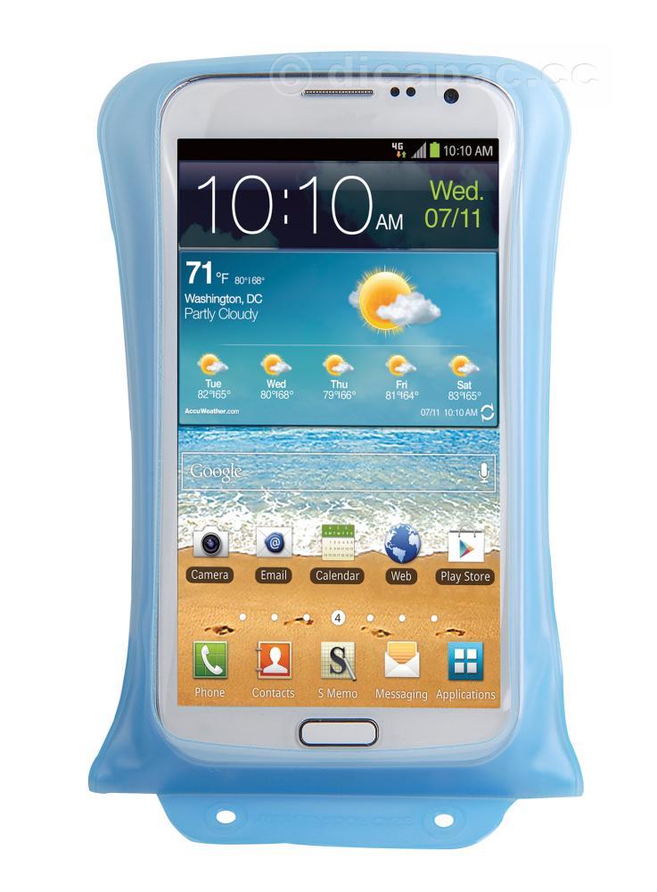 DiCAPac Smartphone-Tasche medium blau
