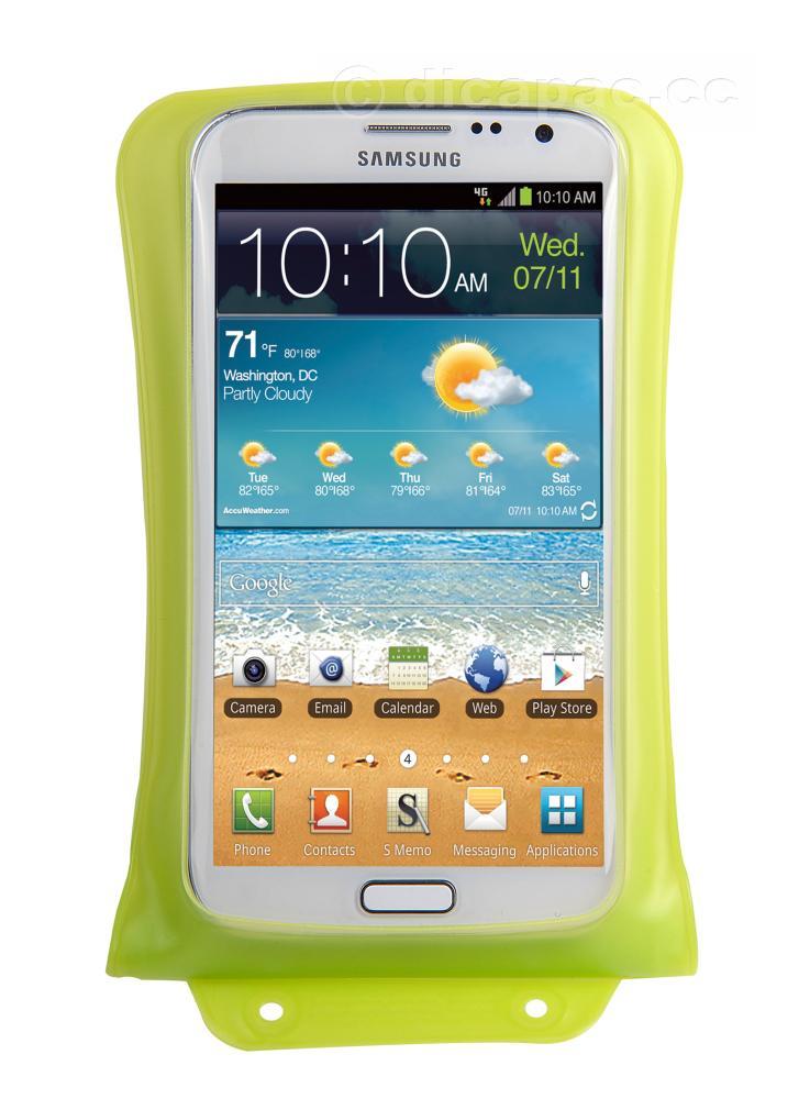 DiCAPac Smartphone-Tasche medium grün