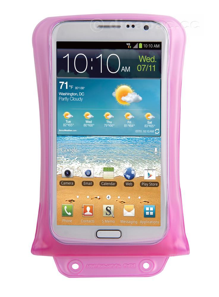 DiCAPac Smartphone-Tasche medium pink