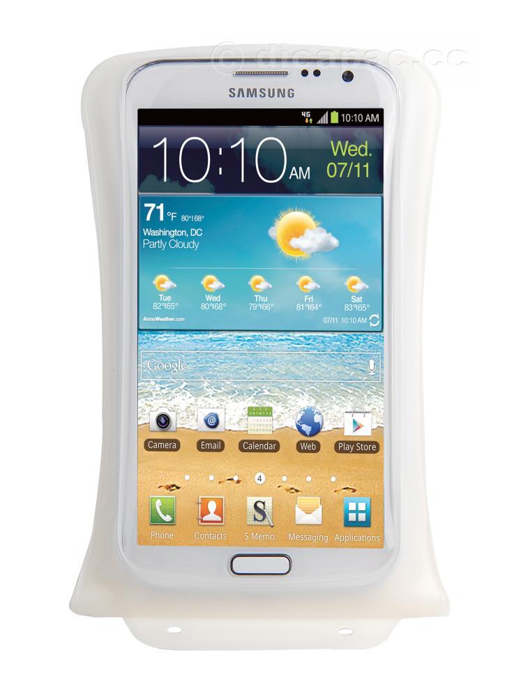 DiCAPac Smartphone-Tasche medium weiß
