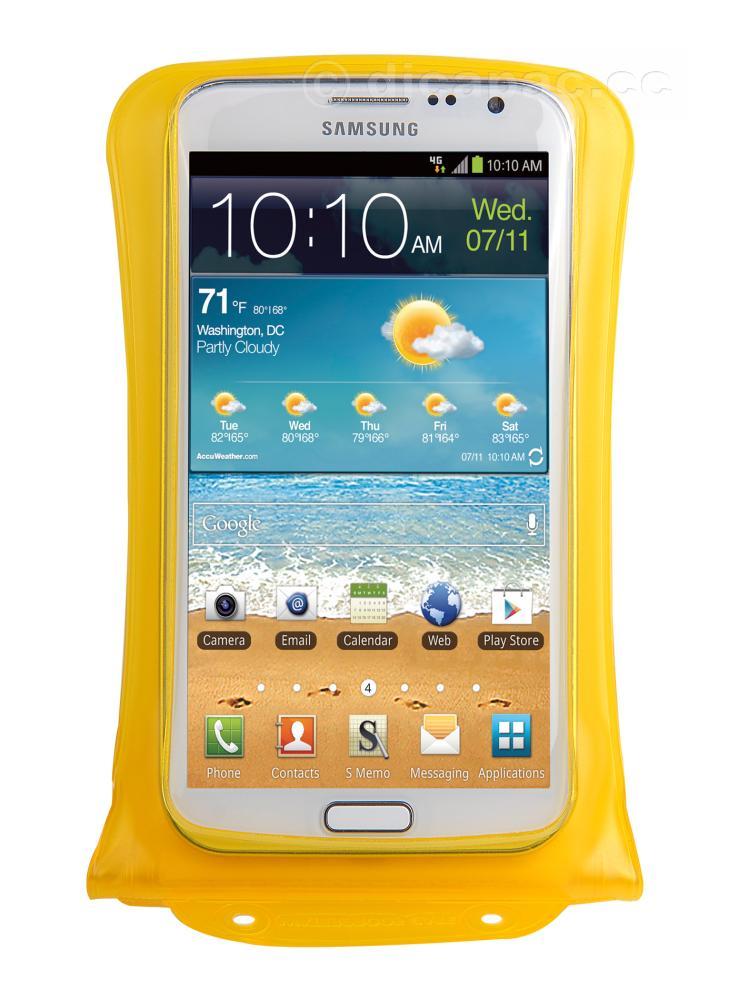 DiCAPac Smartphone-Tasche medium gelb