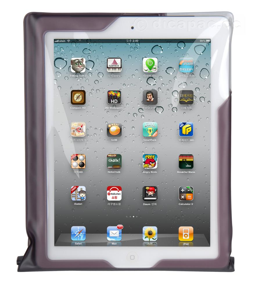 DiCAPac iPad™ Case waterproof