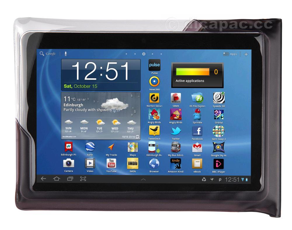 DiCAPac Tablet-Tasche wasserdicht